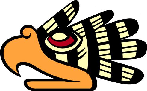 el Águila en el horóscopo azteca